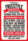11th Annual Freestyle Festival 2016