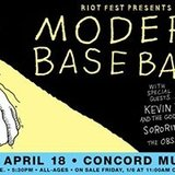 Modern Baseball - Concord Music Hall - April 18th