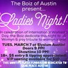 Ladies Night, a celebration of Womyn (Boiz of Austin)