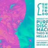 Shut The Front Door x Hideout Festival: Purple Disco Machine