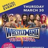 Wrestlemania Team Trivia