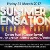 Summer Sensation Breakup Party - Friday 31 March - Nicci Beach