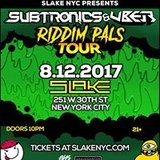 Subtronics & Uber | 8.12.17