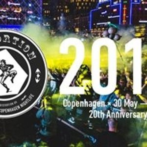 Distortion 2018 × Copenhagen × 20th Anniversary