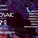 Maceo Plex's Mosaic Halloween: Paranoid London, Prins Thomas, Rebolledo & More