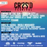 CRSSD Festival Announces 2018 Spring Edition Lineup