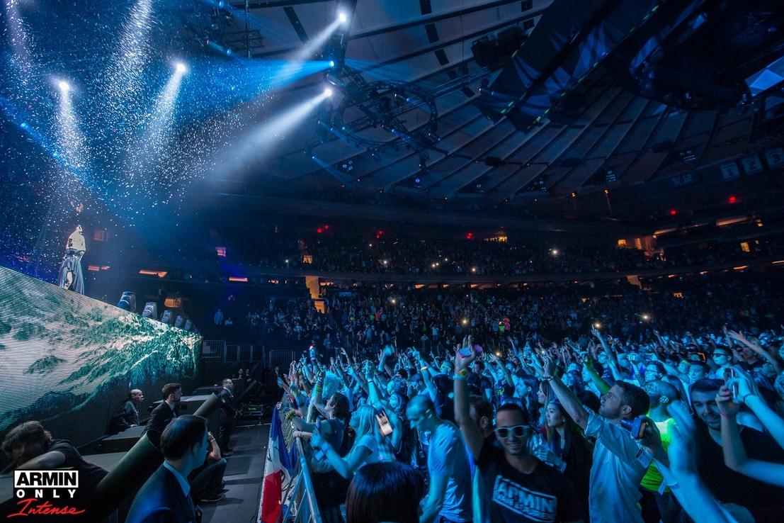 Armin Only: Intense Roadmovie On Madison Square Garden Show